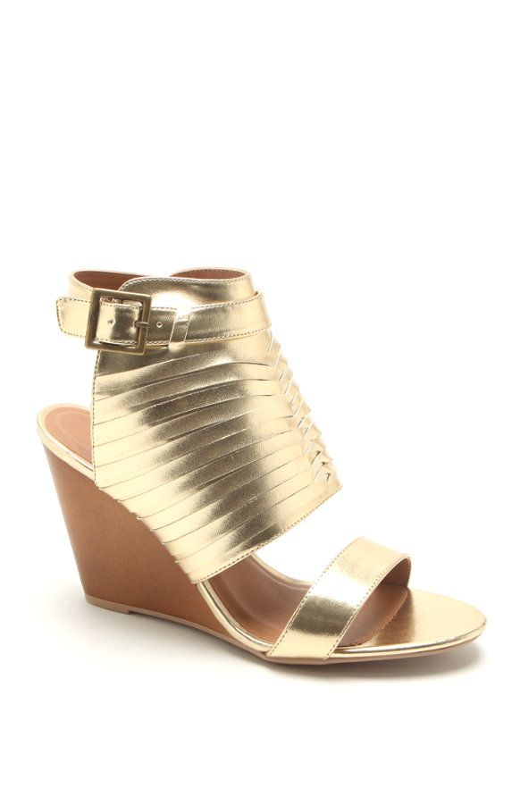 11ae042315b1 Qupid Gipsy Wedge Sandals at PacSun.com