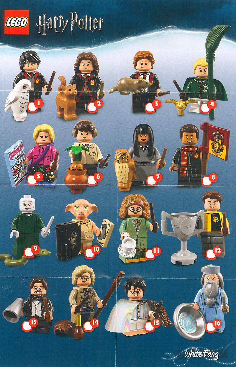 Lego Harry Potter Fantastic Beasts Minifigures 71022 GENUINE Select Figure