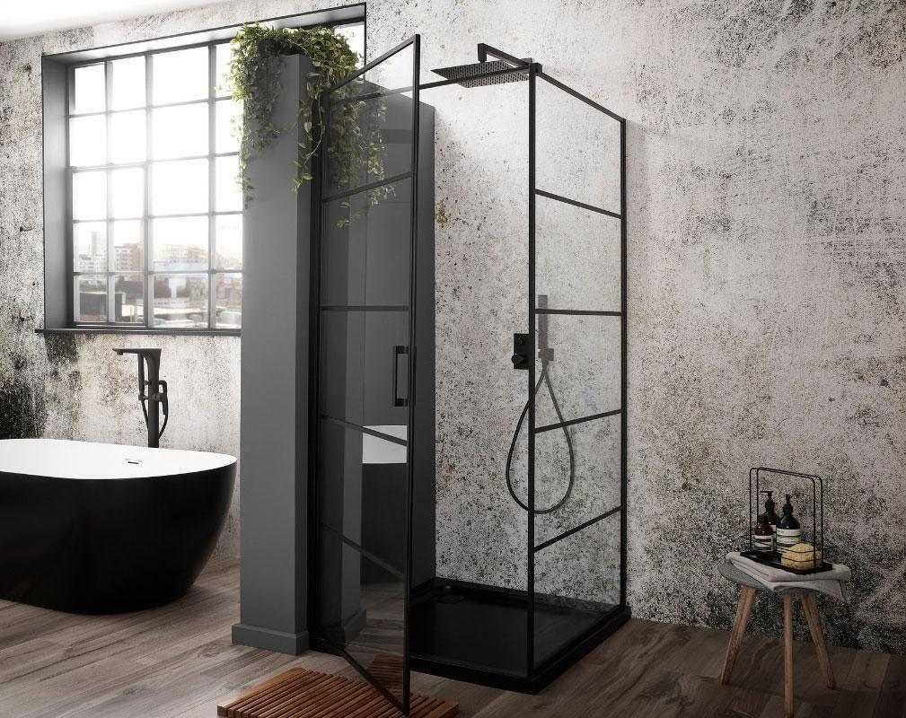 Crittall Shower Panels Enclosures Screens Bathroom Trends Shower Panels Big Bathroom Designs