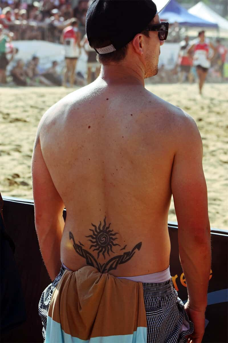 Lower Back Tattoos for Men