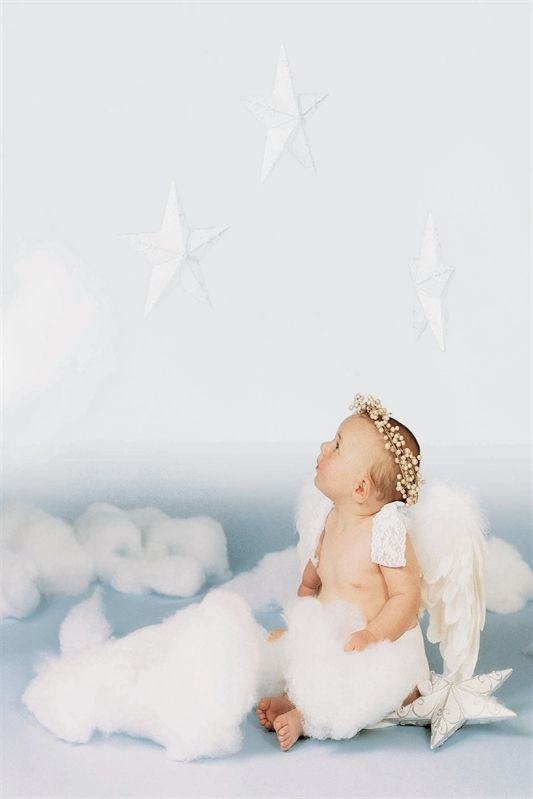 Baby Angel Wings Top Baby Baby with Angel Wings Christening