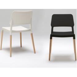 Photo of Santa & Cole Belloch Stuhl, grau, Aluminium matt (für Außenbereiche geeignet) Santa & Cole