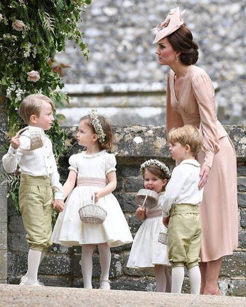 Britishroyalfamily Katemiddleton Duchessofcambridge Princegeorge Princesscharlotte Pageboys Bri Pippa Middleton Hochzeit Pippa Middleton Prinzessin Kate