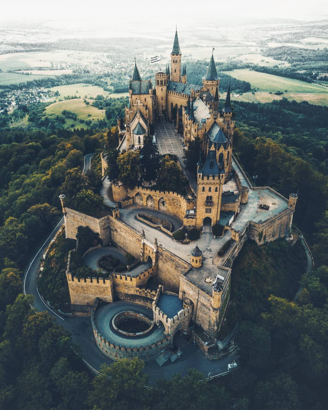 Hohenzollern Castle Germany Castles Hohenzollern Castle Beautiful Castles