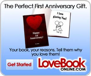 Love Book Online Five Year Anniversary Gift First Wedding Anniversary Gift Year Anniversary Gifts