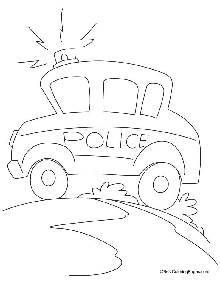 Long Siren Coloring Page