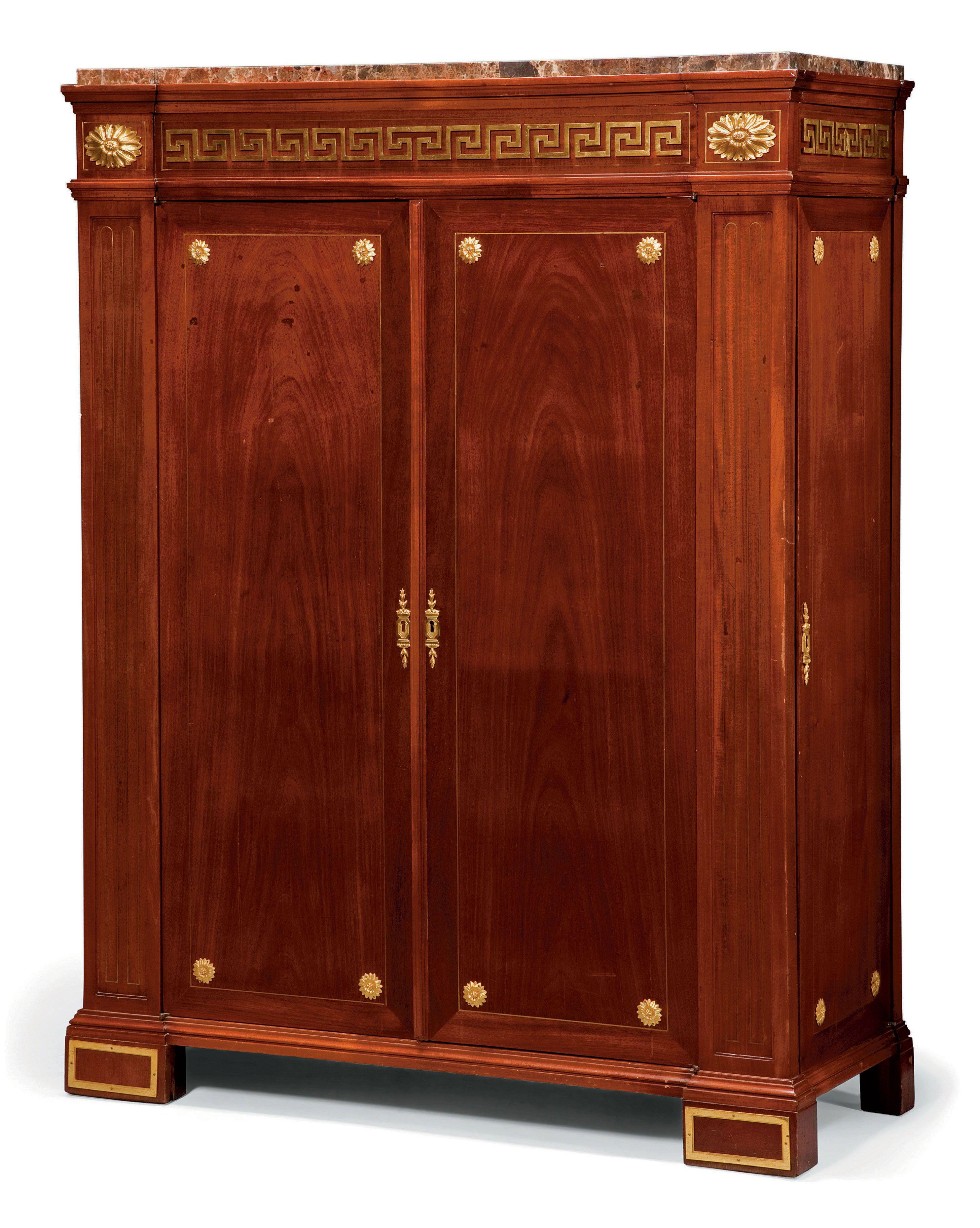 Armoire D Architecte D Epoque Louis Xvi Estampille De Philippe Claude Montigny Vers 1770 Late 18th Century Mobilier De France Mobilier De Salon Louis Xvi