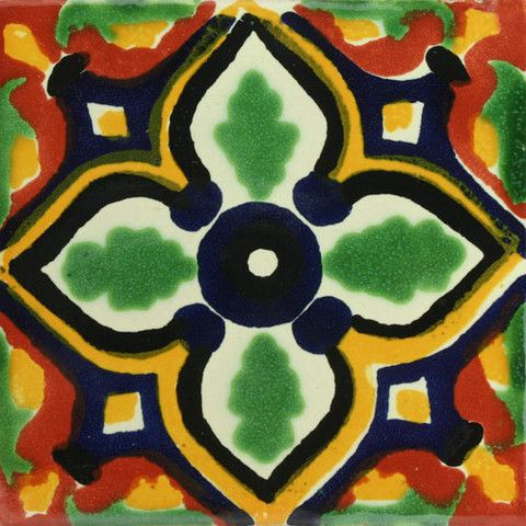 Decorative Mexican Tiles Classy Traditional Mexican Tile  Salamanca  Traditional Decor Design Ideas