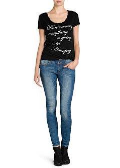 3912a06a8c Slim-fit medium wash lizzy jeans - Women