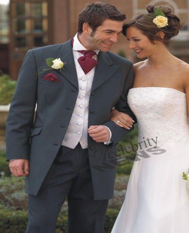 Grey Wedding Suits | Men Wedding Suits | Grey Wedding Tuxedos ...