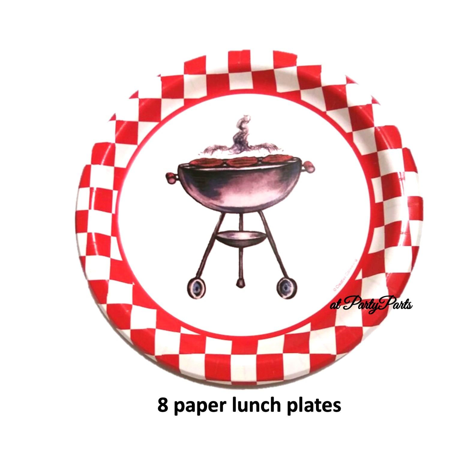 barbecue grill plates bbq 9 inch summer party 4th of July  sc 1 st  Pinterest & barbecue grill plates bbq 9 inch summer party 4th of July ...