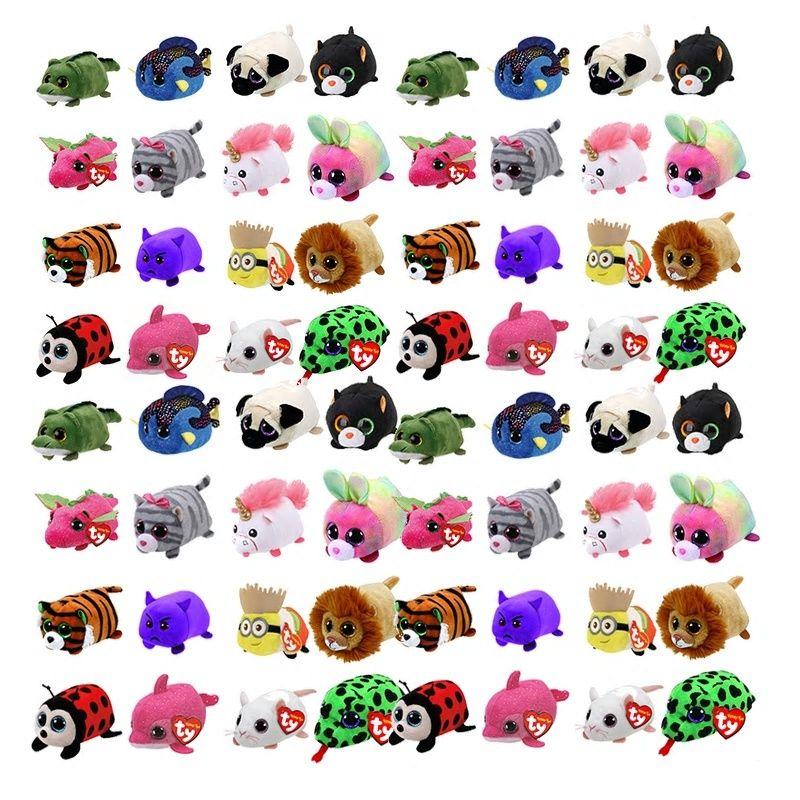 7c4881088d8 TY Beanie Boo teeny tys Plush - Icy the Seal 9cm Ty Beanie Boos Big Eyes  Plush Toy Doll Purple Panda Baby Kids Gift