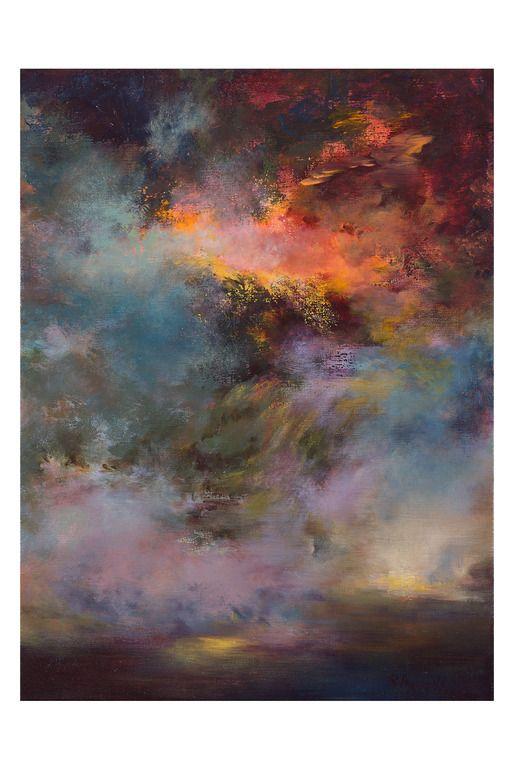 """Saatchi Online Artist: Rikka Ayasaki; Acrylic, 2011, Painting """"Passions- twilight 7005"""""""