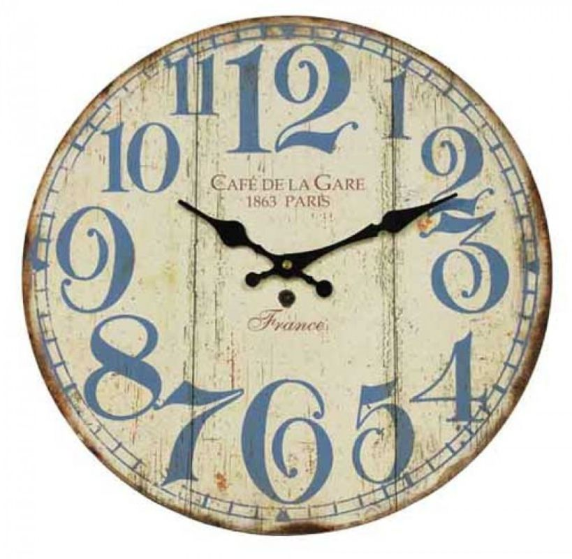 French Themed Clock