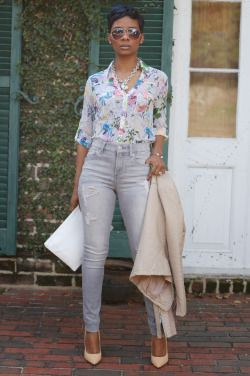 ecstasymodels:  Florals and Leather  Once Upon a Trend