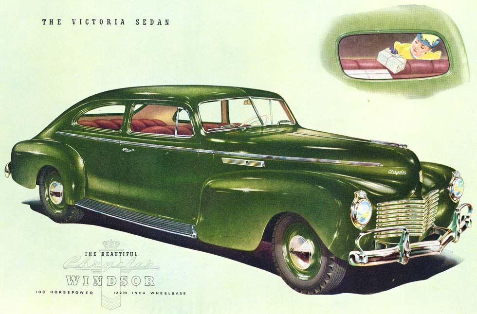 1940 Chrysler Windsor Victoria Sedan | Chrysler: 1940 - 1946 ...