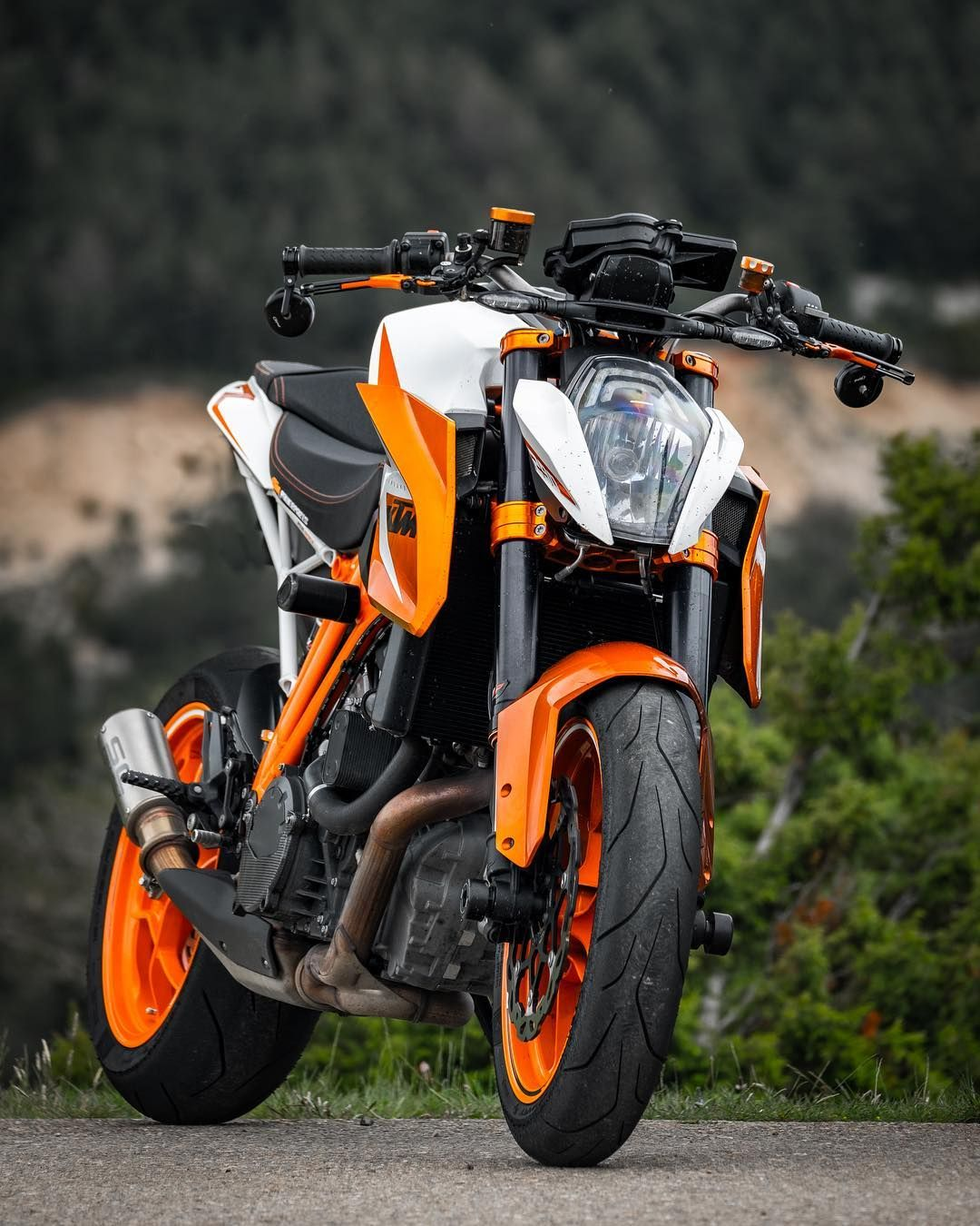 Crush 17 Duke Bike Duke Motorcycle Ktm