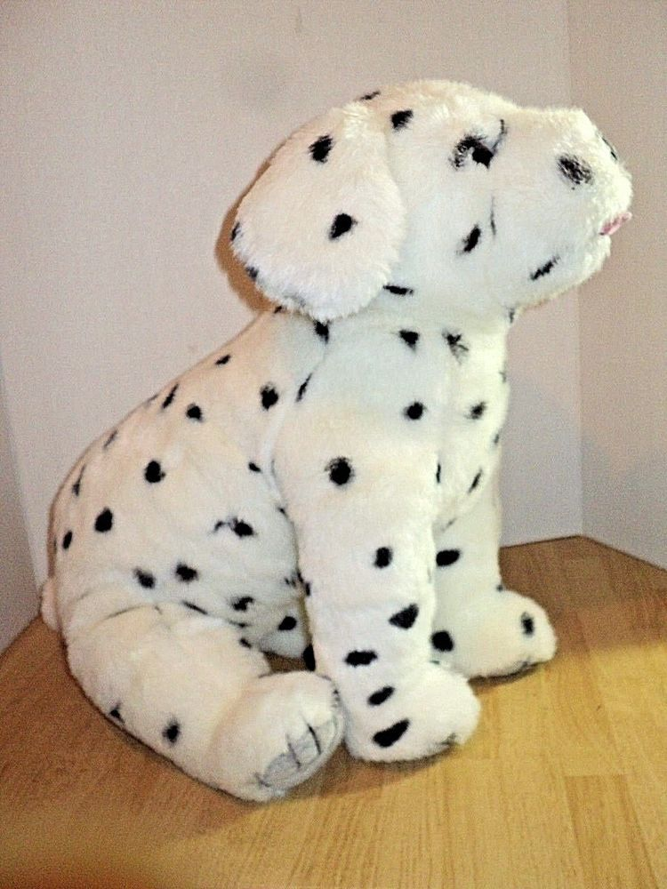 Ty Large Dalmation Plush 1991 Made In Korea 21 Long 14 Tall No