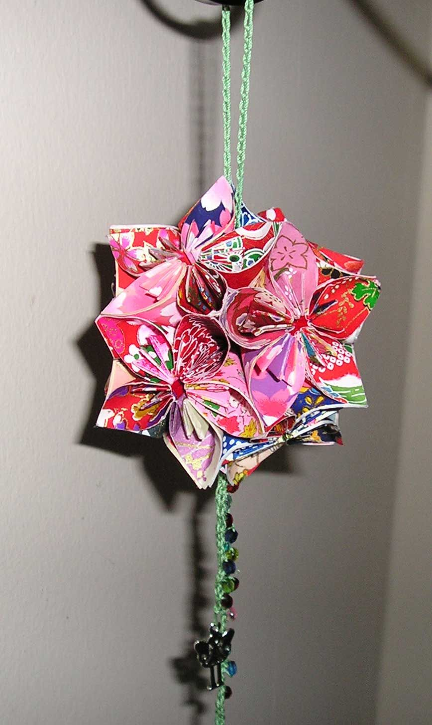 Origami Flower Ball Or As My Husband Calls It A Death Star I