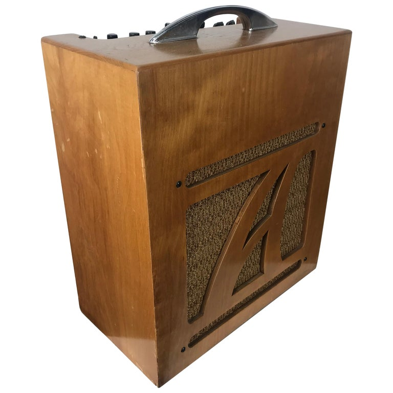 Extremely Rare 1954 Alamo Electrical Musical Amplifier ... on