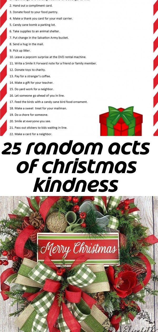 25 random acts of christmas kindness #doubledoorwreaths