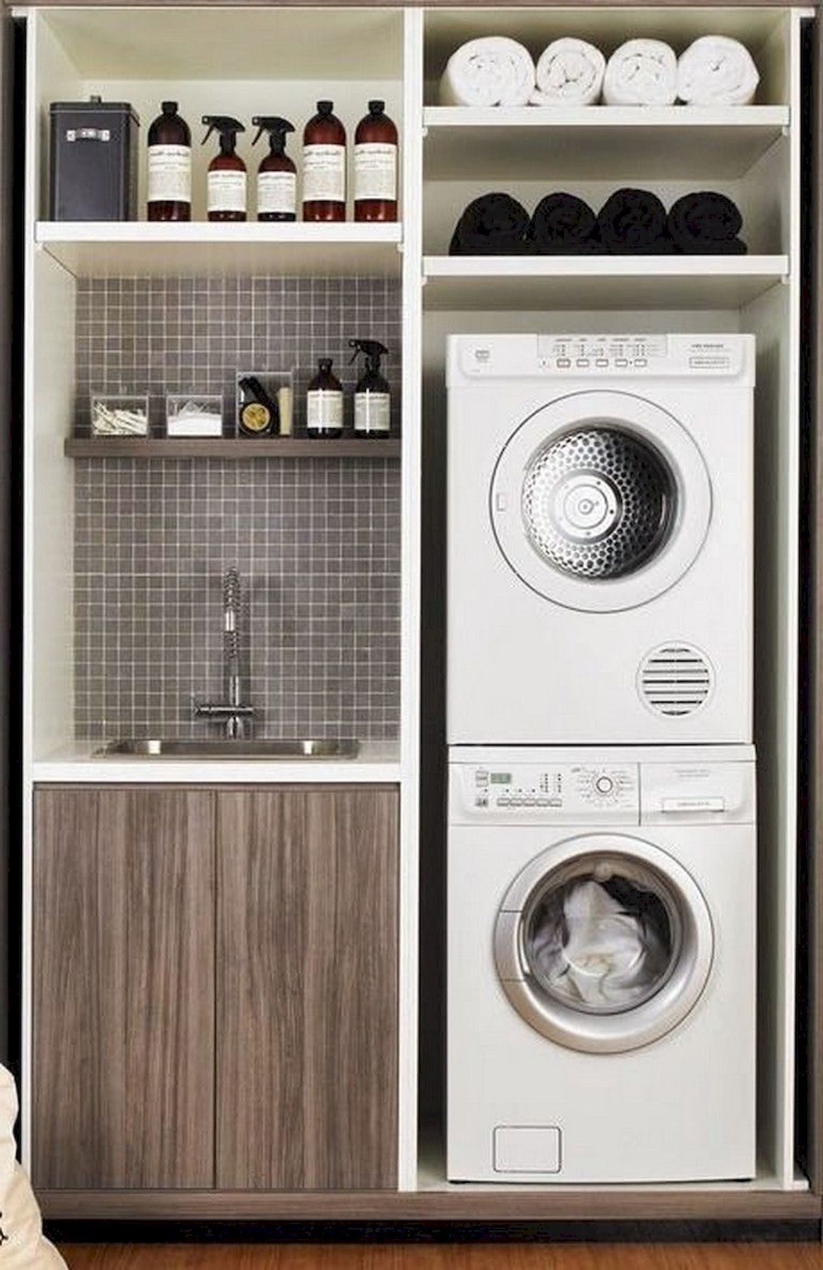 Photo of 55 Best Small Laundry Room Photo Storage Ideas | SHAIROOM.COM