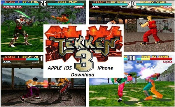Tekken 3 ISO – Apple iOS iPhone Fighting Game Download