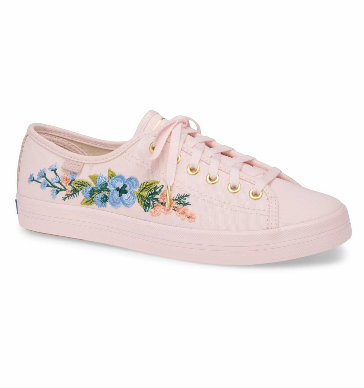 cbf3b84543 Embroidered Herb Garden Rifle Paper Co. × Keds® Collection