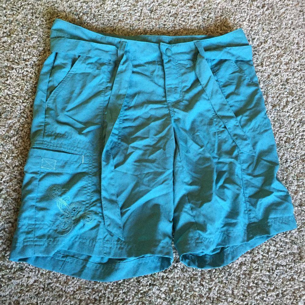 Columbia Women S Swim Board Shorts Sz 8 Blue Euc Athletic Ebay Board Shorts Women Shorts