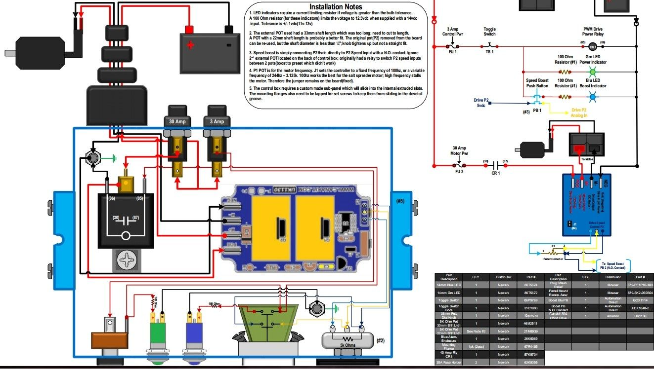 Salt Spreader Controller Wiring Diagram Trusted Schematics Wire For Control Box By Jidoukass Homemade Western Unimount Plow