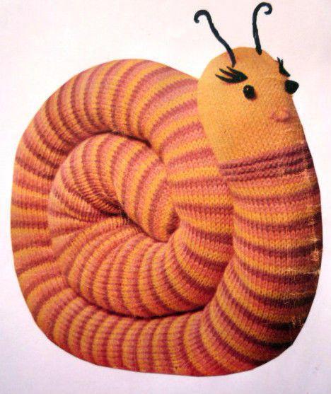 Sally Snail - Knitting creation by Kathy | Knit.Community