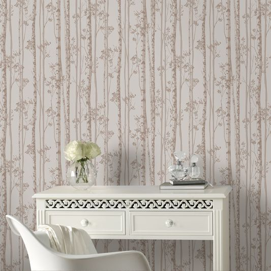 Linden Pebble And Rose Gold Wallpaper Rose Gold Wallpaper Gold Wallpaper Gold Tree Wallpaper