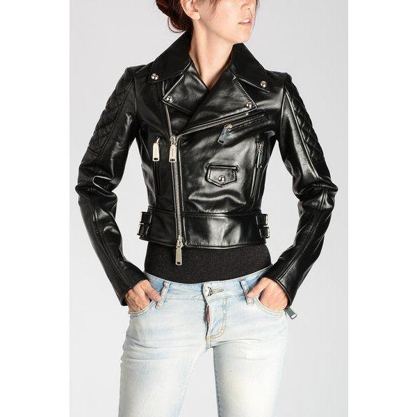 dsquared2 icon leather jacket