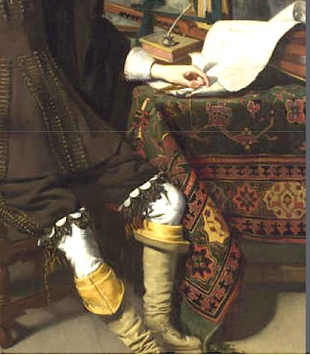 7 1627, Thomas de Keyser, Constantijn Huygens and his Clerk det