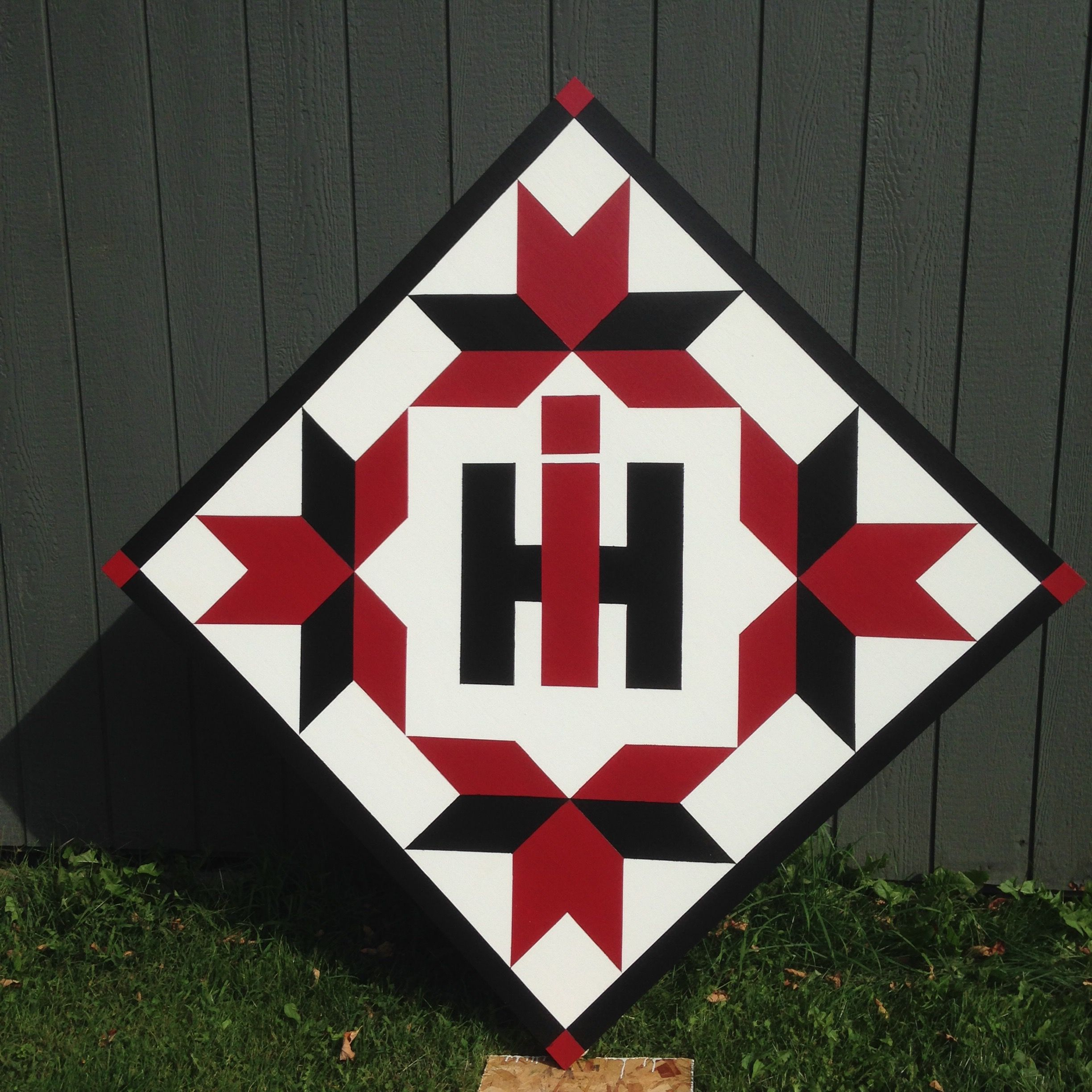 Quilts For The Barn Case Ih Barn Quilt Painted Barn