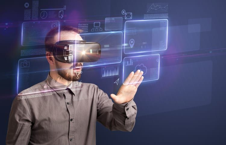 Virtual Reality (VR) (mit Bildern) Hintergrund