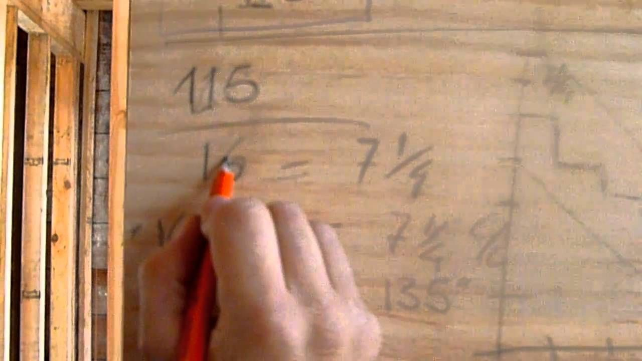 como hacer escaleras de madera #1(CALCULO) - YouTube | Construccion ...