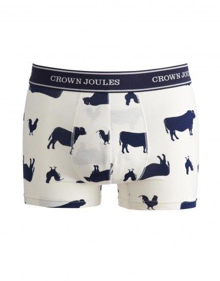 93633a28cff9 Joules R Crown Joules Mens Boxers In Various Prints   褲子 in 2019 ...