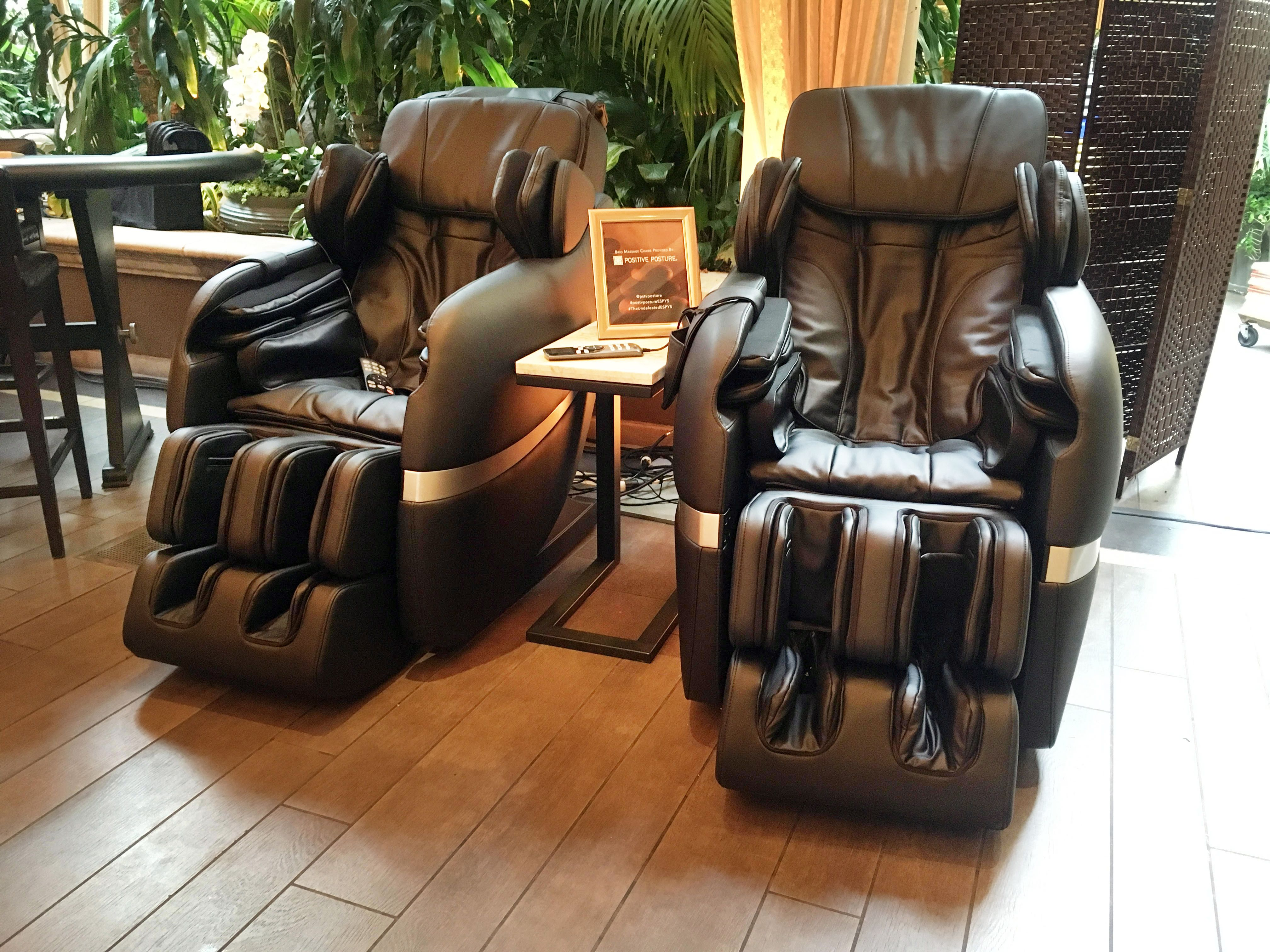 positive posture massage chair herman miller ergonomic no sunday night blues if you are kicking back in your own brio