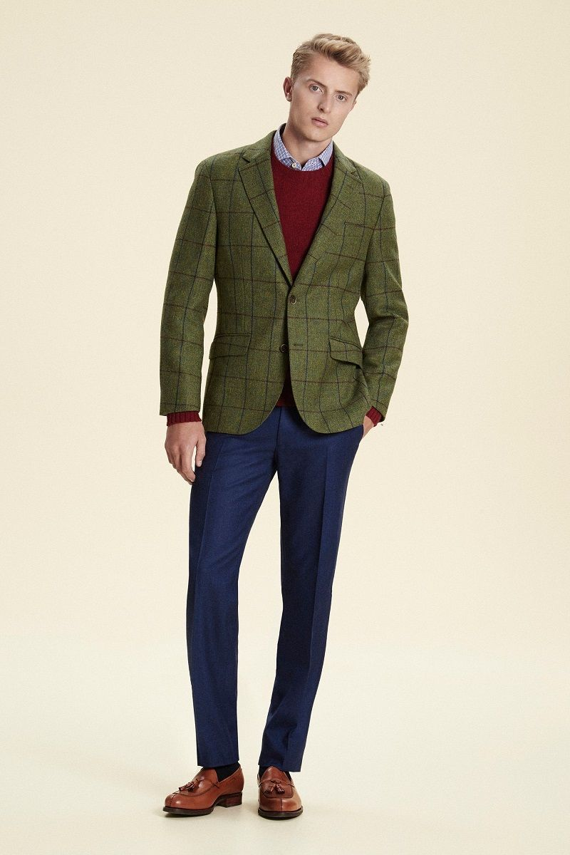 Mr Vintage Trendy Jesien Zima 2016 38 Suit Jacket Jackets Single Breasted Suit Jacket