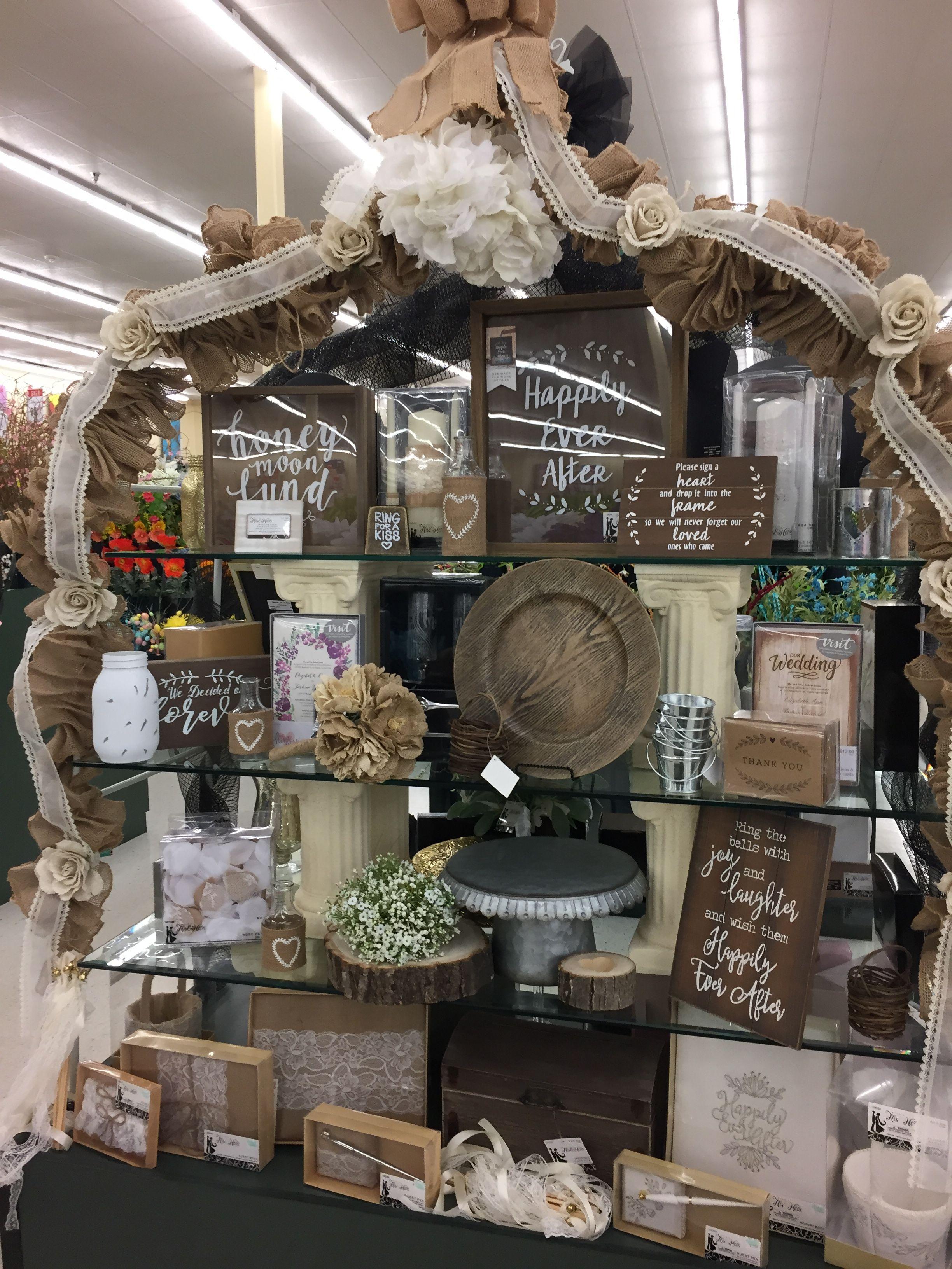 Wedding Table Display Hobby Lobby Spring 2019 Burlap