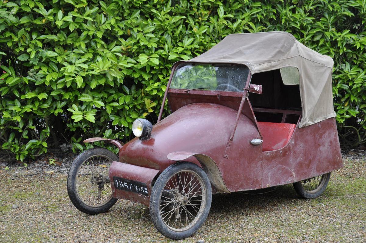 Mochet Type K 1949 99 Cm3 1 Cheval 2 Places Assises
