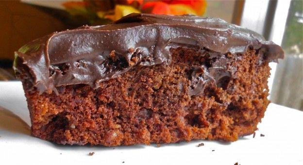 Nutty Wacky Crazy Cake | Flavor Mosaic, adapted from the Crazy Cake Recipe at AllRecipes.com.  #chocolate #cake