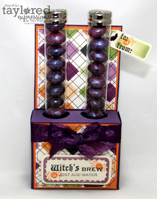 Another cute Halloween gift using test tubes Holiday crafts gifts - cute halloween gift ideas