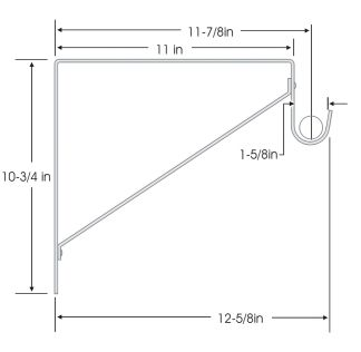 Stainless Steel Closet Rod Bracket Info From Closet Bay