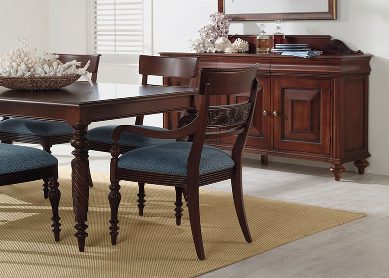Mackenzie Side Chair  Ethan Allen  My Home  Pinterest  Side Chair Awesome End Chairs For Dining Room Design Inspiration