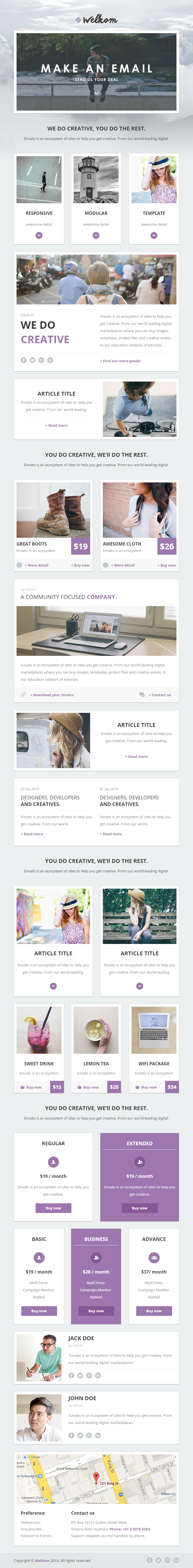 Welkom responsive email template orange grey wordpress and gray mailchimp and mymailwsletter plugin wordpress plugin 6 color style blue cyan green purple orange gray commented html spiritdancerdesigns Gallery