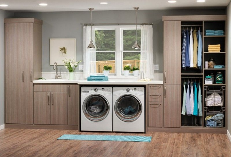 Inspiring Utility Cabinets For Laundry Room
