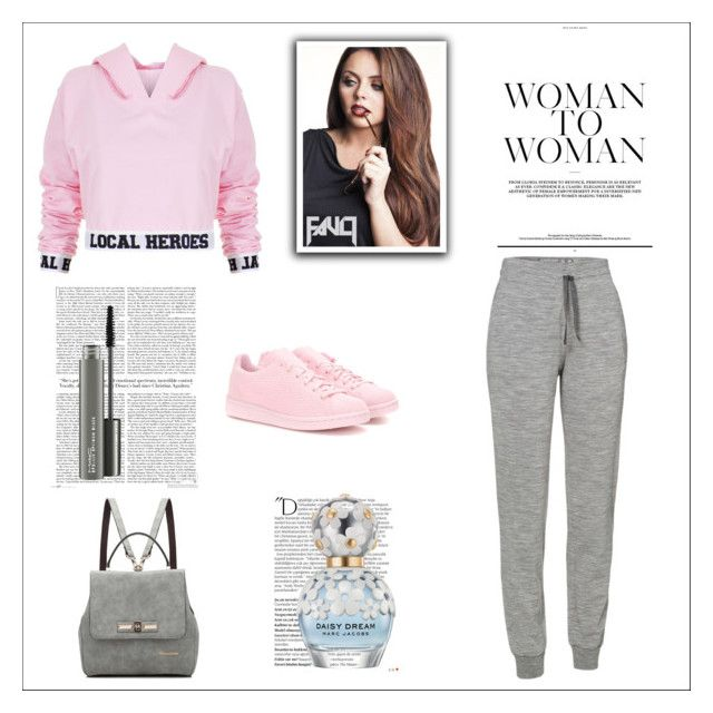 """""""Pink"""" by diamond-pinckney ❤ liked on Polyvore featuring art"""