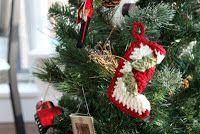 crochet christmas decorations free patterns-free crochet tree ornaments-xmas decorations-crochet